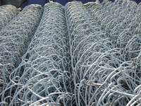 Anping Factory GI Chain Link Mesh Fence