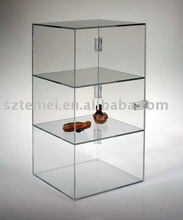 fashionable clear acrylic display cabinet