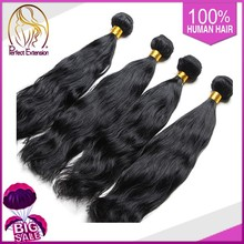 Unprocessed Virgin Indian Hair, Indian Human Hair Weaves, Top Grade 7a Virgin Hair