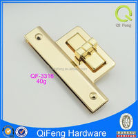QF-3316 twist lock special gold shape low price hardware