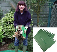 Plastic leaf & grass collectors garden tools