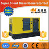 Diesel engine silent generator set genset dynamo CE ISO approved factory direct supply electric car with generator
