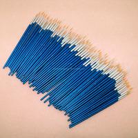 100pcs per set bulk wooden acrylic nail brush for nail art nail brush set
