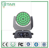 decorative mini lights Toppest 36x12w rgbw 4in1 zoom moving head led stage light