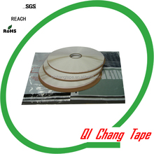 double sided glue leaving pearl white extened liner self adhesive tape for sealing express bag made in china