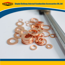 copper sealing brass gasket/ washer/ pad with high quality and reasonable and attractive price