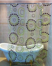 2015 HOT SALE!!! EU and USA best choose and fashionable priting YOUR LOGO shower curtain/bath curtain with lowest price IN CHINA