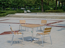 solid wood design outdoor or indoor used wood furniture YC052,YT23A