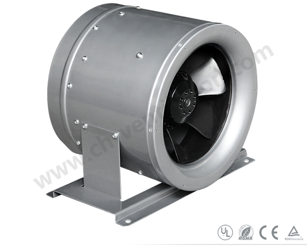 Inline Fan Structure : Hydroponics activated carbon odor air filter price blower