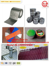 lead color self adhesive aluminum bitumen flashing tape especial for UK market