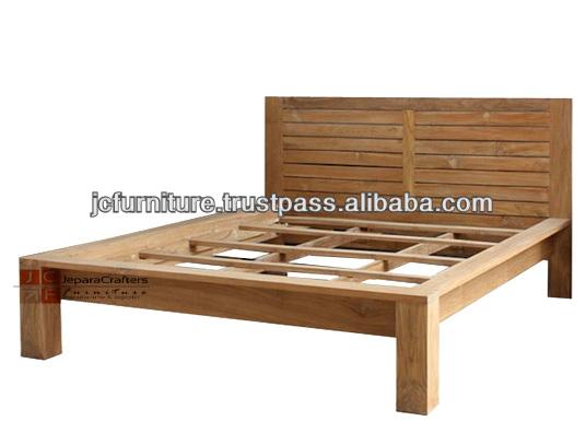 Bedroom Solid Teak Bed Minimalist Indonesia Furniture Buy Teak Wood Beds Models Bedroom