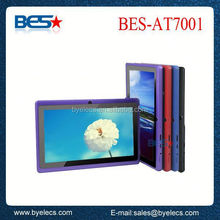 cheapest and high quality dual high camera wholesale 7 q88 allwinner a13 tablet android 4.0