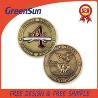 2015 most popular creative economic souvenir metal euro coin