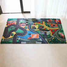 Eco-friendly Custom Printed Kids Polyester Play Mat