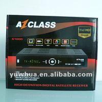2012 Az class S1000 hd receptor dvb-s2 1080p for chile