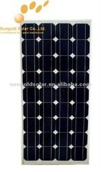 A grade Good quality mono solar panel 130W 18V