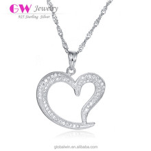 S925 Silver Pendant Forever Lover Pendant Jewelry