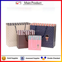 Wholesale alibaba fancy paper gift bag with handles,christmas paper bag for gift,customized paper gift bag made in china