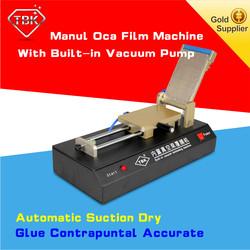 Factory direct sales mobile phone OCA Glass vacuum film oca lamination/sticker machine FOR lcd GLASS