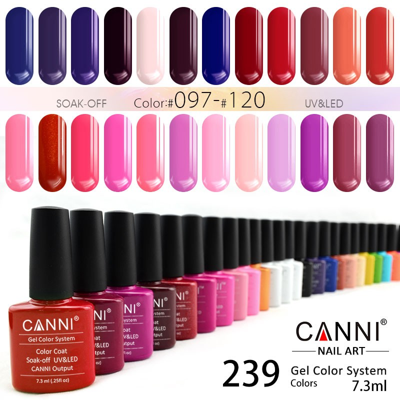 30917j Canni Varnish Gel For Nails 7.3ml Private Label Glitter Nails ...
