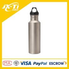 Exterior Titanium ultraligera botella de agua