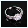 Luxury Big Gemstone Rings With Diamond Surrounding for Men and Women