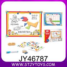 Crianças placa aprendizagem educativa prancheta de desenho colorido de suspensão magnética