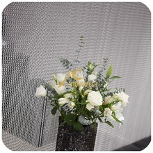 Decorative partitions chain link curtain for bedroom