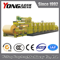 YC1430/1630 chinese wide web 6 color flexo printing machine