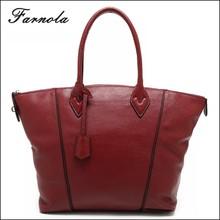 2015 fashion luxury custom handbag handmade leather tote bag women