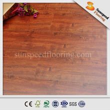 factory sale HDF 11mm middle embossed laminate flooring