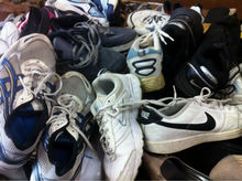 Credential used shoes