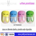 uso profesional del salón kit de uñas acrílico fábrica suministrar falsas uñas