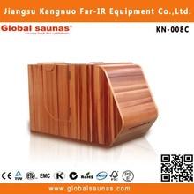 hot sale infared foot barrel, half body sauna