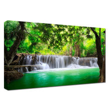 Waterfall Landscape Oil Painting On Canvas