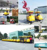Automatic ride-on street floor cleaning machine with high quality
