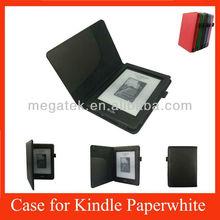 super slim Pu folio Leather case for amazon kindle paperwhite,for amazon kindle paperwhite case leather