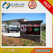 different pixel pitch for choice led outdoor gas station signs competitive price