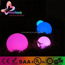 large garden glowing/flashing/illumin solar led ball