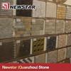 Natural stone multicolored slate ledge stone panel