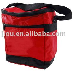 Outdoor fitness fabric insulated lunch bag cooler bag