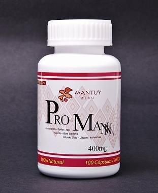 Pro - hombre. ( De gato, Zarzaparrilla y Achiote ) medicina china