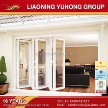 Australian standard pvc heat insulation Laminated glass Accordion door