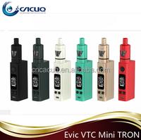 Hottest Selling Mod Vapor eVic VTC Mini Tron With 75w Temp Control E Cigarette New eVic VTC Mini tron kit
