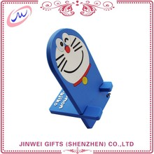 China supplier Eco-friendly mobile phone holder soft pvc mobile phone holder for iphone 6