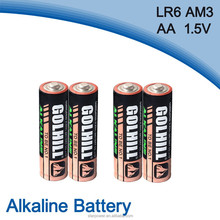 LR6 Size aa battery china manufacturer