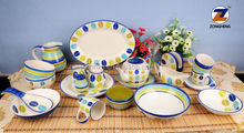 hp full set ceramic decorative tableware for big family to celebrate holiday