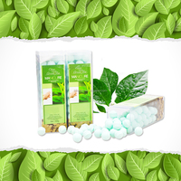 The Best Selling BATHRANI Papaya & Green Tea 250g Hand Soak Fizzies Manicure And Pedicure Products For Nail Art Supplies