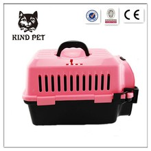 2015 plastic traveling pet carrier small dog cage
