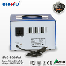 CE ROHS single phase 1000VA avr voltage stabilizer